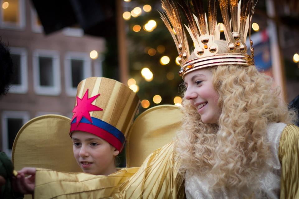 Christkind du Marché de Noël de Nürnberg