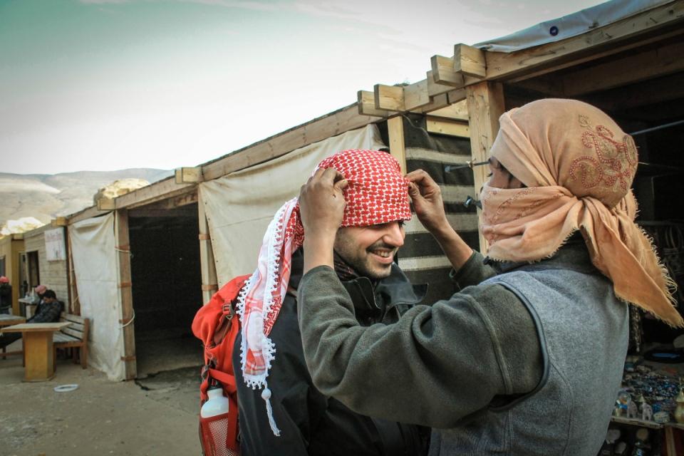 bedouins à Petra