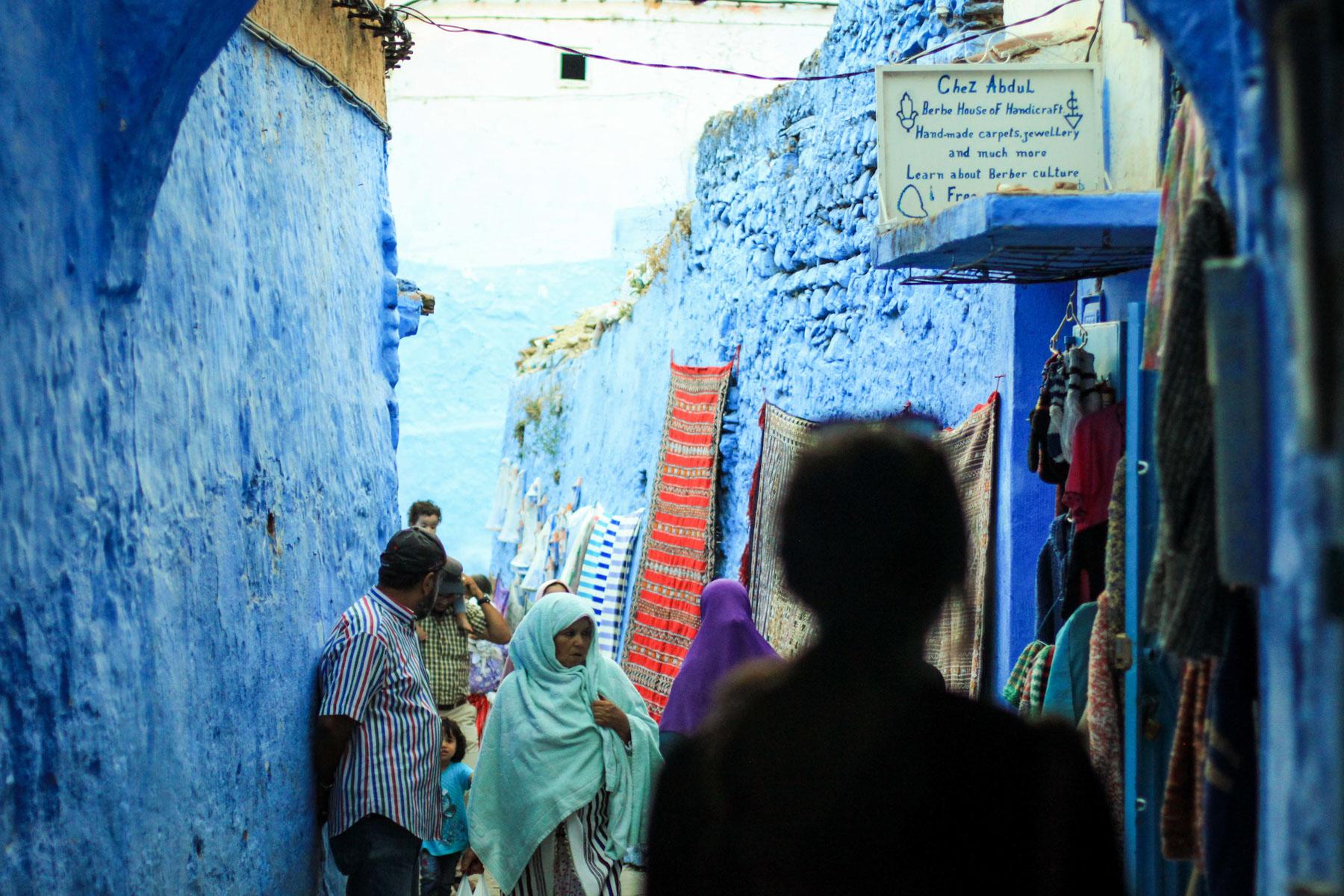 Chefchaouen au Maroc