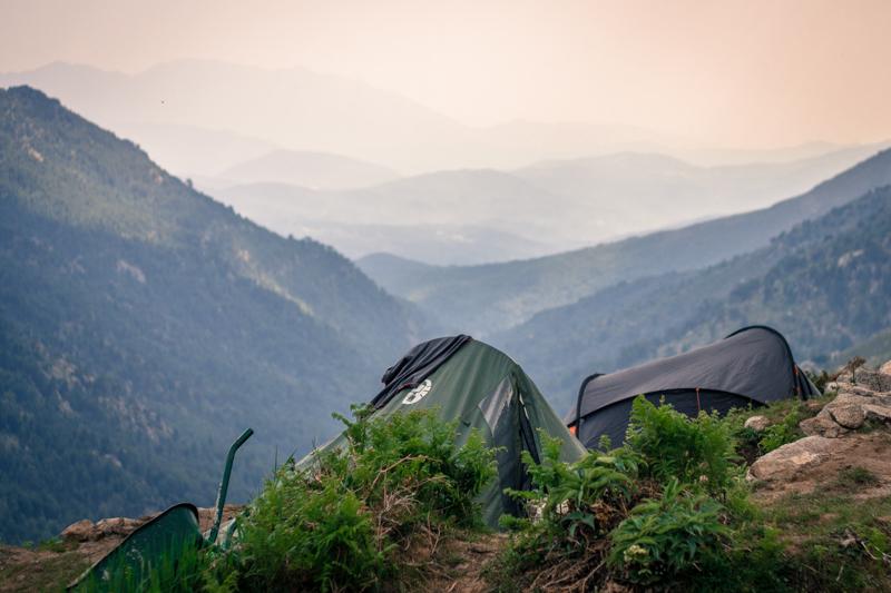 Camping refuge Asinao