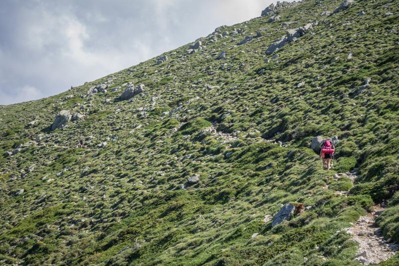 Randonnée GR20 Corse