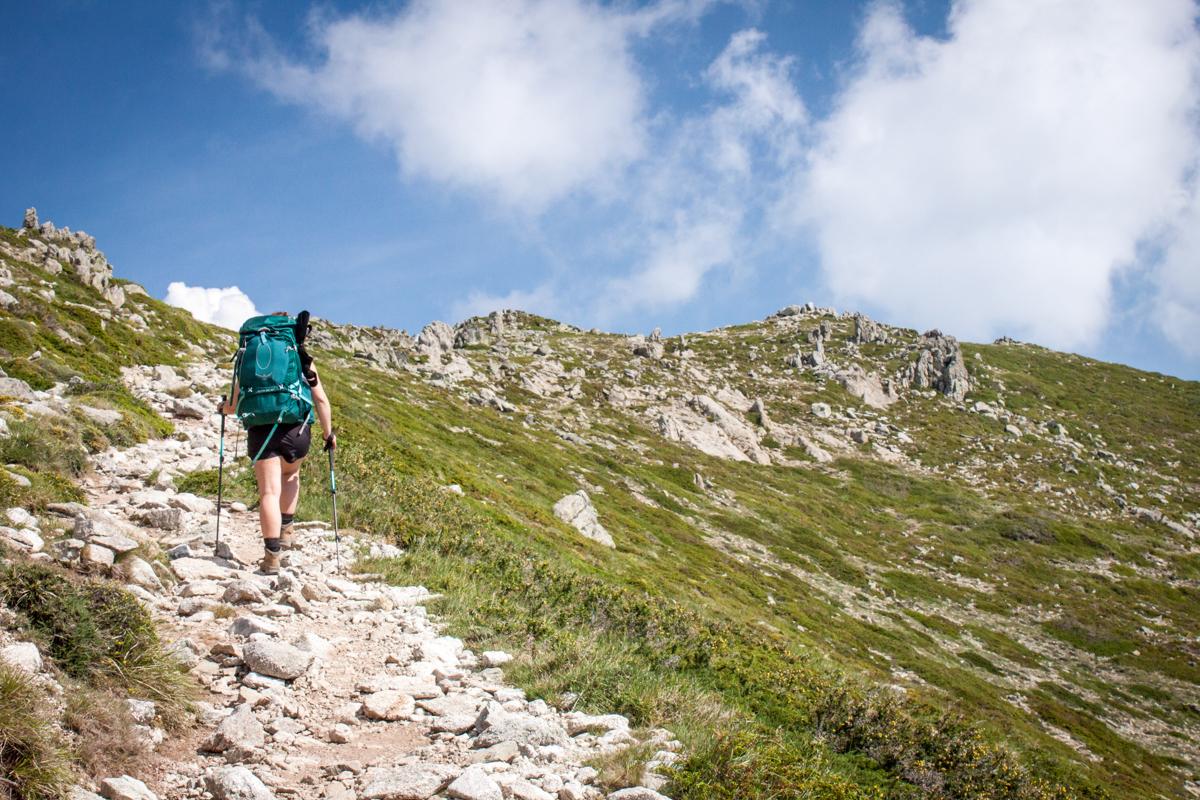 Randonnée sentier GR20 Sud Vizzavona Corse