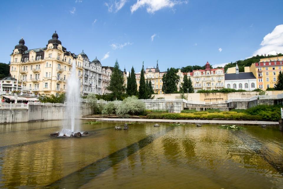 Marienbad en République tchèque