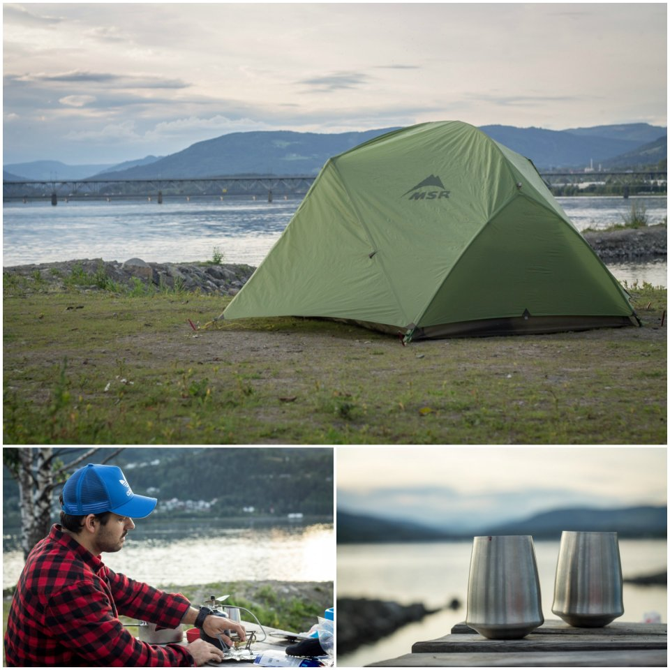 Où camper en Norvège