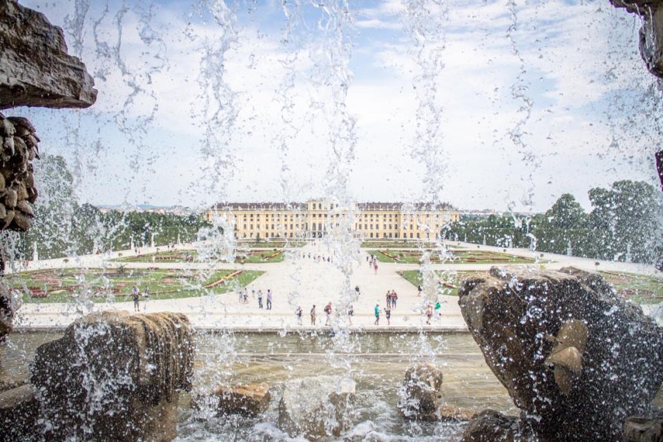 Château de Sissi à Vienne