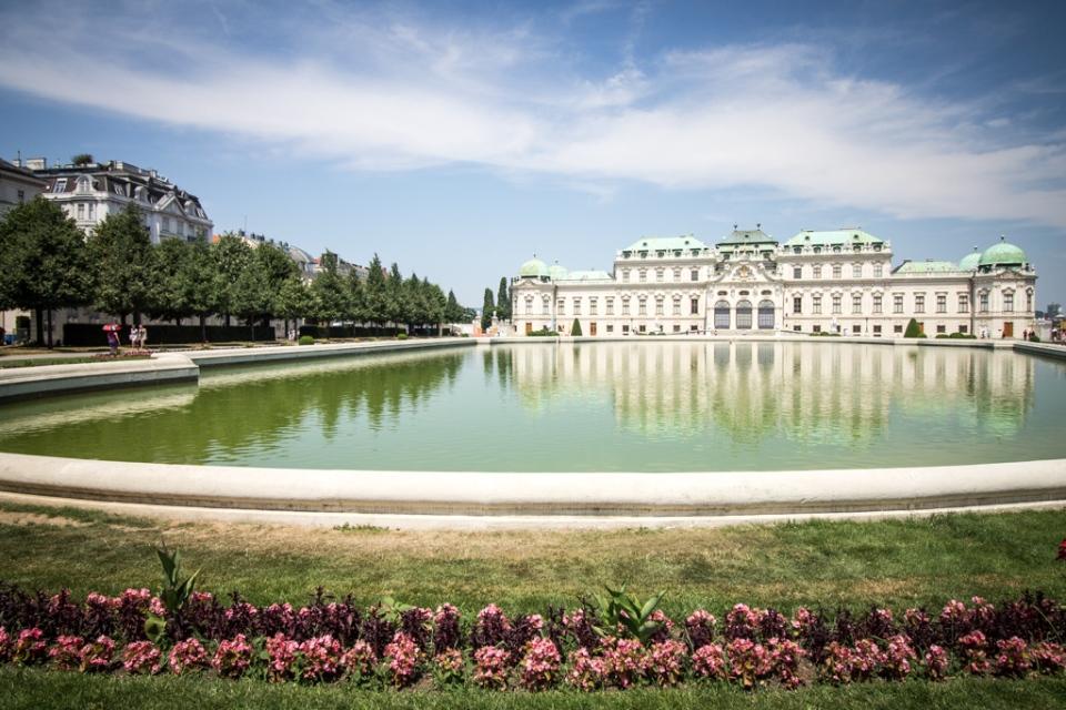 Palais du Belvédère à Vienne