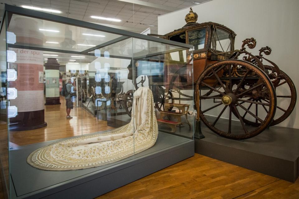 Musée des carrosses impériaux Vienne