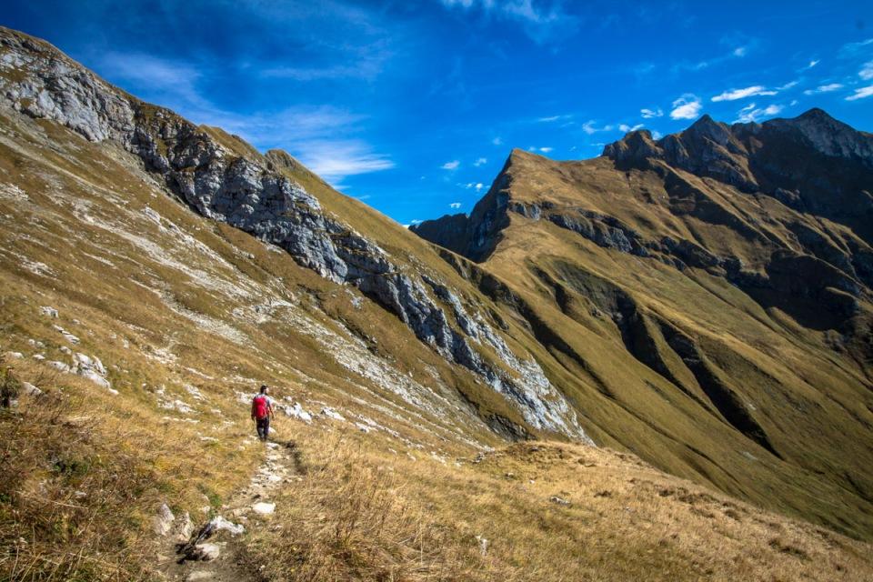 Trail Nebelhornbahn