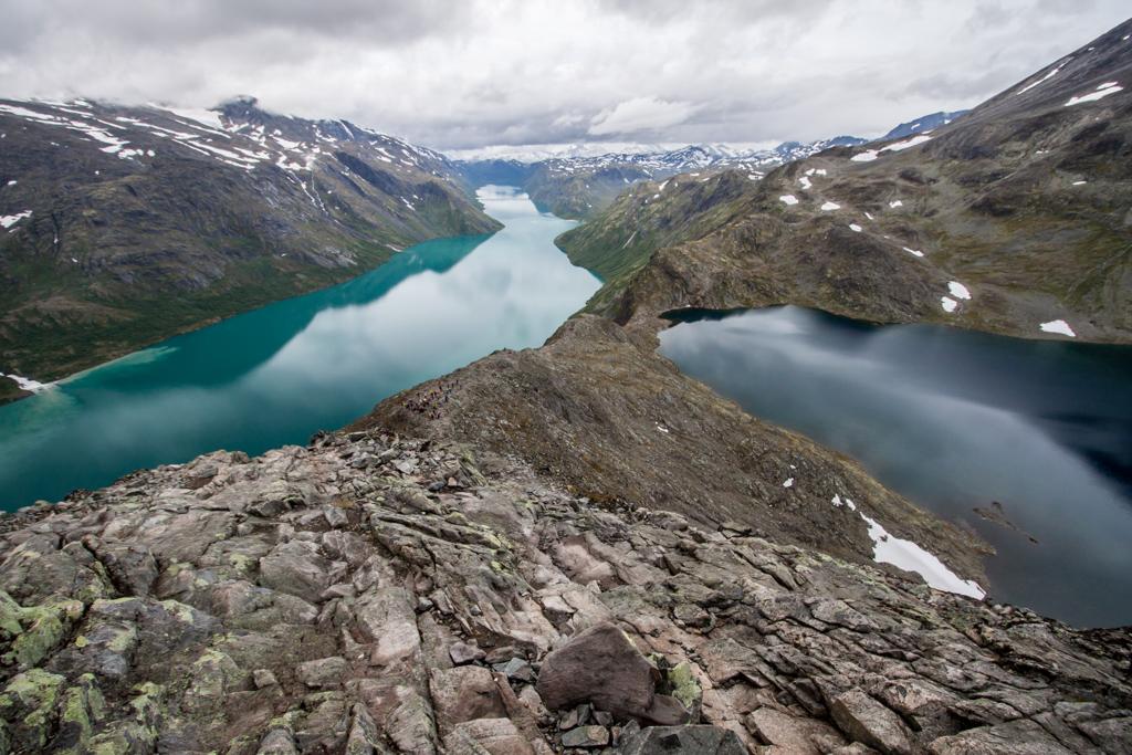 Hiking Besseggen Norvège
