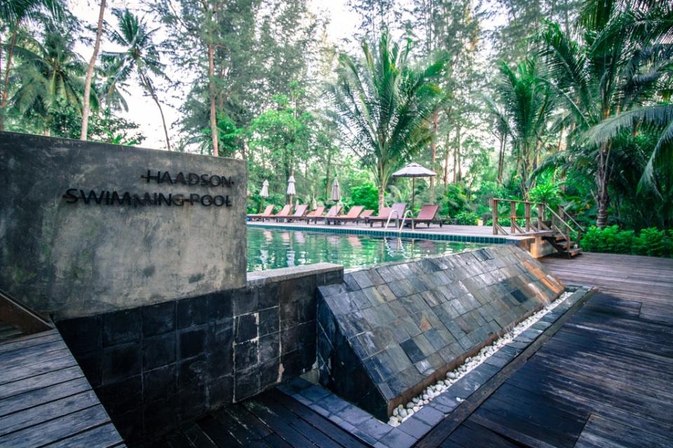 Piscine de l'hôtel Haadson Resort