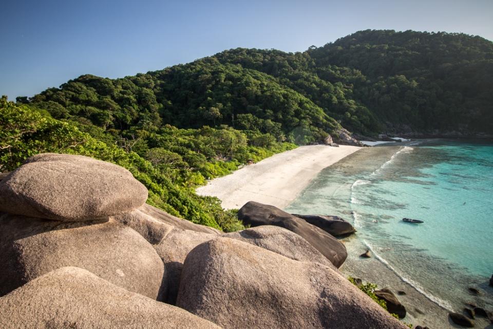 Similan Islands Big rock
