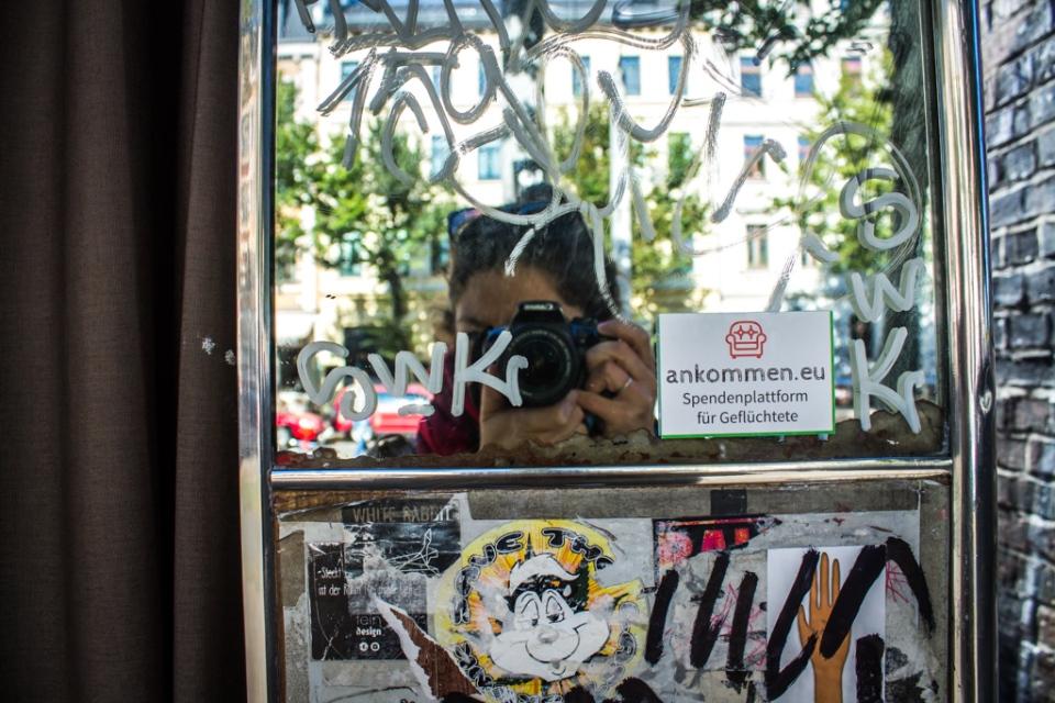 Photomaton sur Karl-Heine Strasse à Leipzig