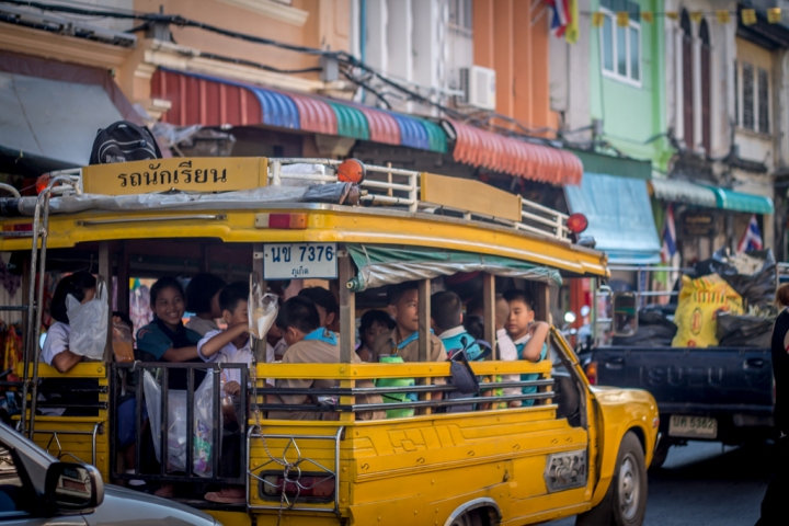 Vieille ville de Phuket en Thaïlande