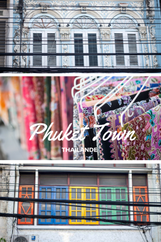 Voyage à Phuket Town en Thaïlande